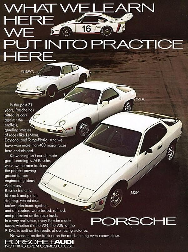 A Porsche 924 like no other at Porsche Centre Bristol