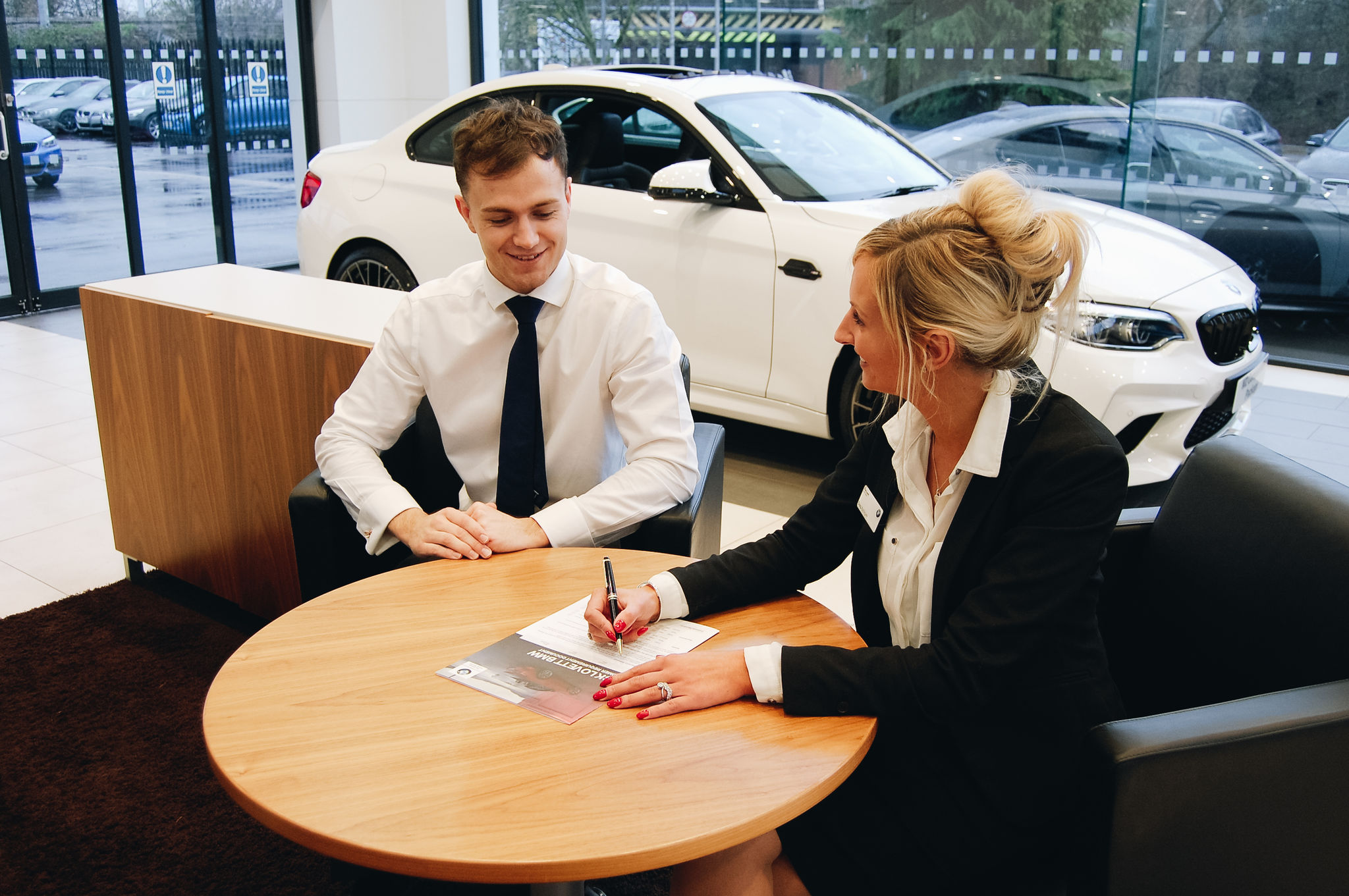 Business Hire BMW