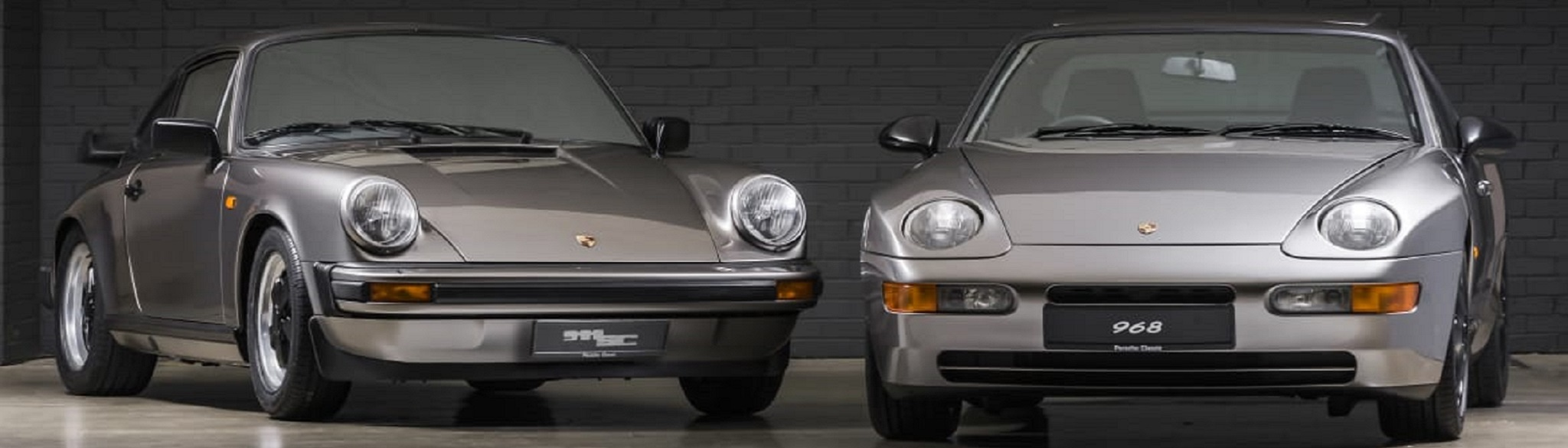 Porsche 911 SC   1982 and 968 Sport   1996