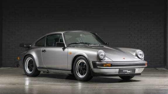 Restored Porsche 911 SC
