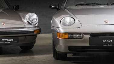 Restored Porsche 911 SC   1982 and 968 Sport   1996