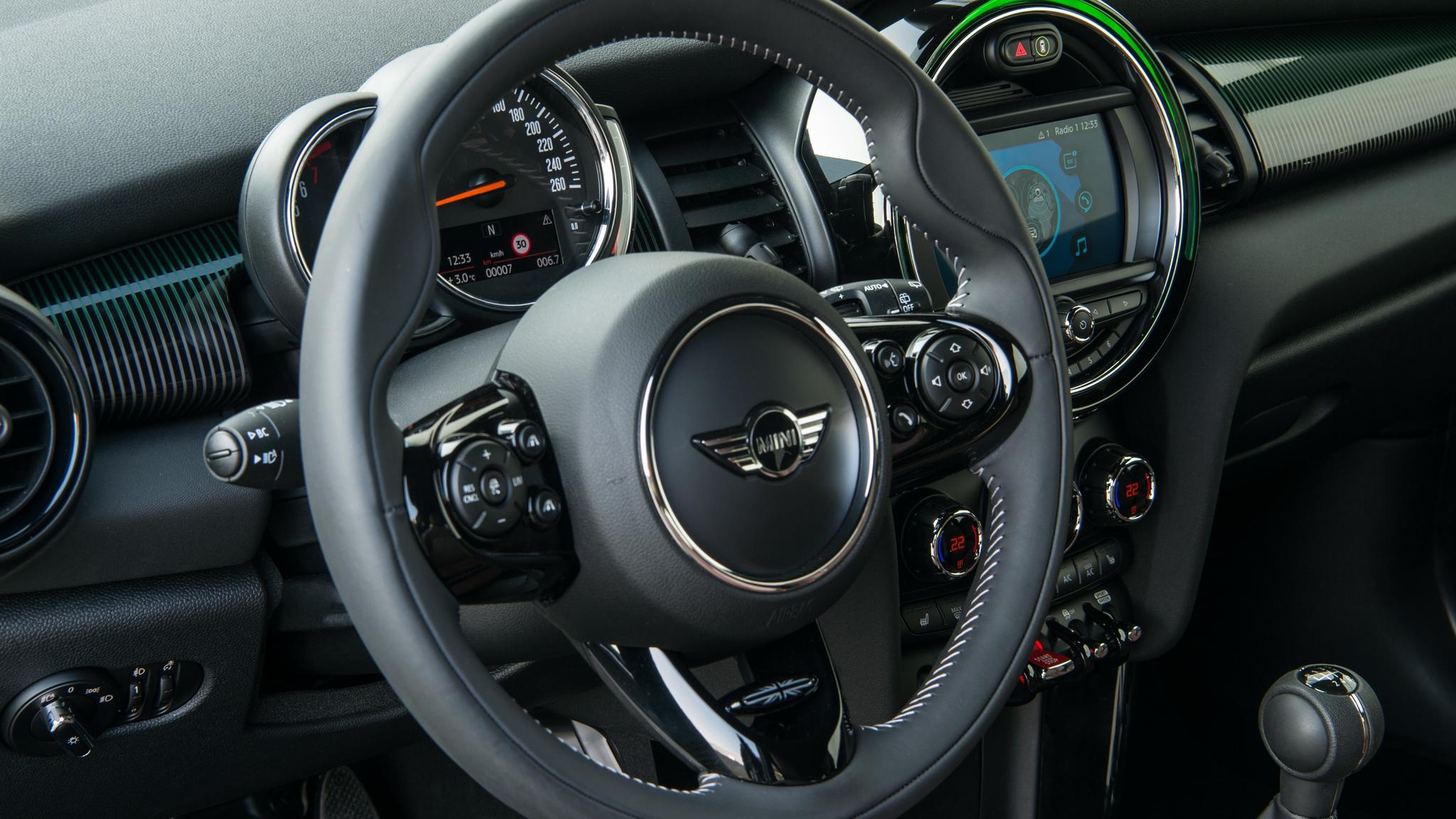 MINI 60th Edition Steering Wheel