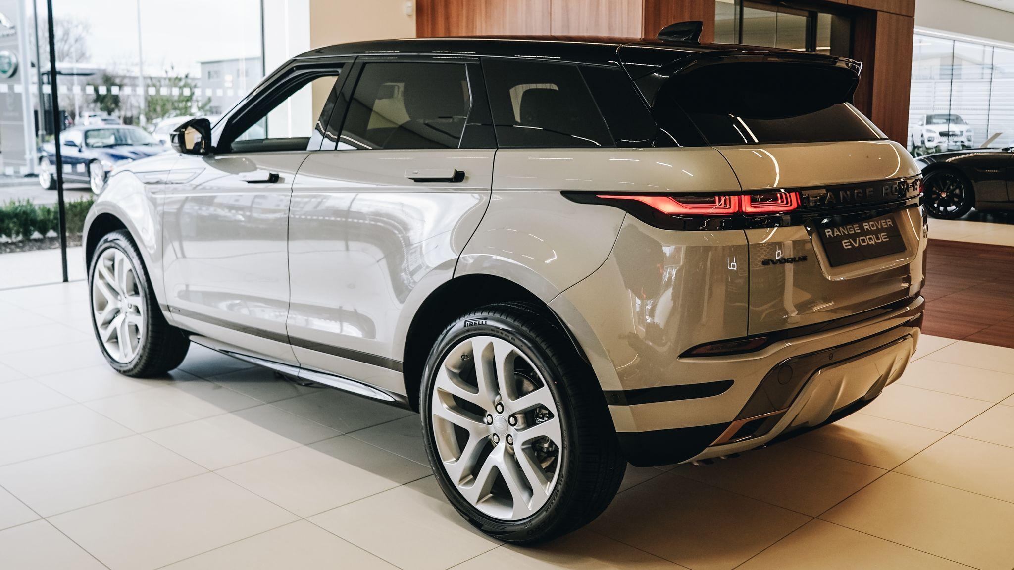 Range Rover Evoque Rear Cropped