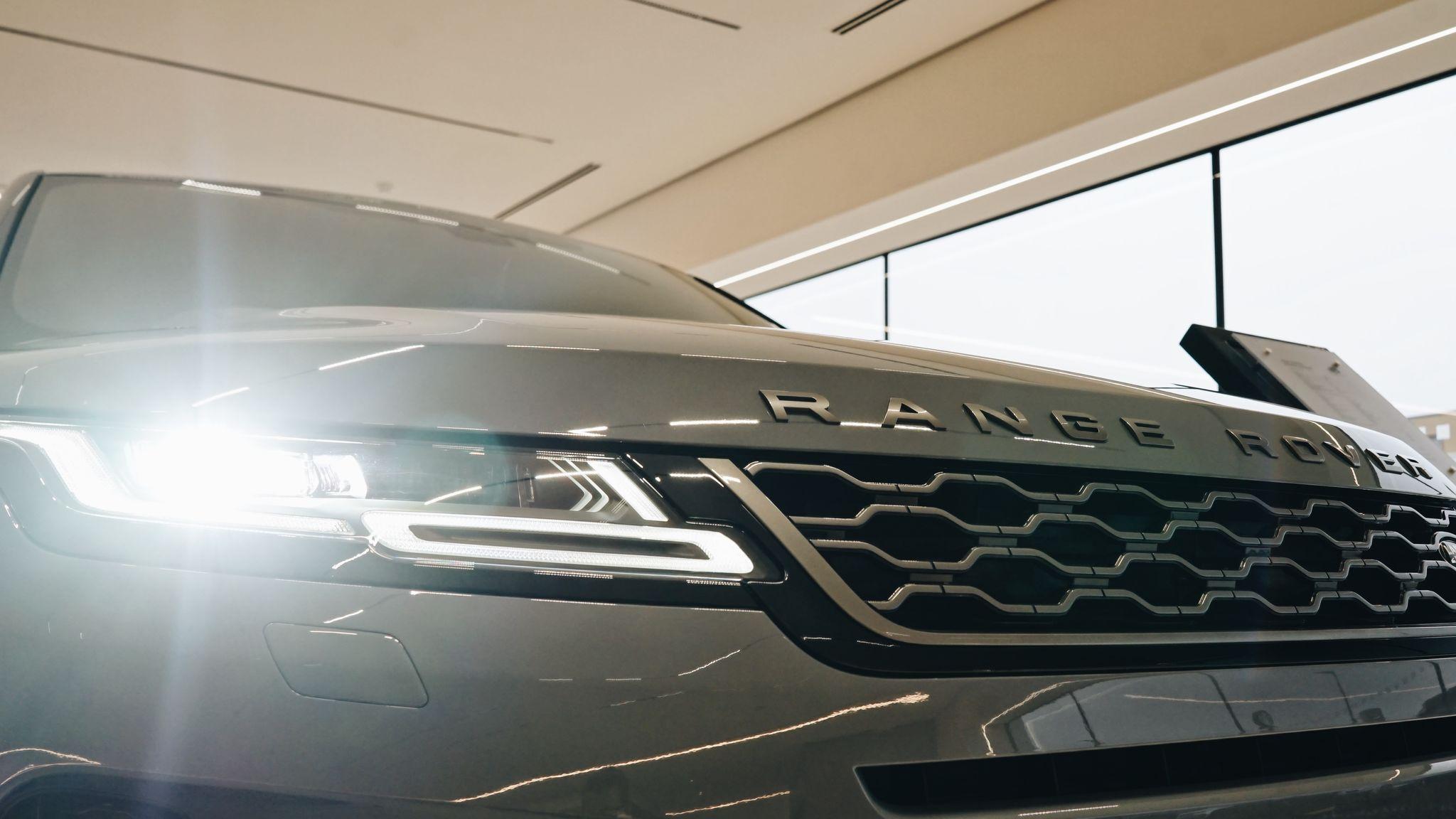 Range Rover Evoque Front Headlights