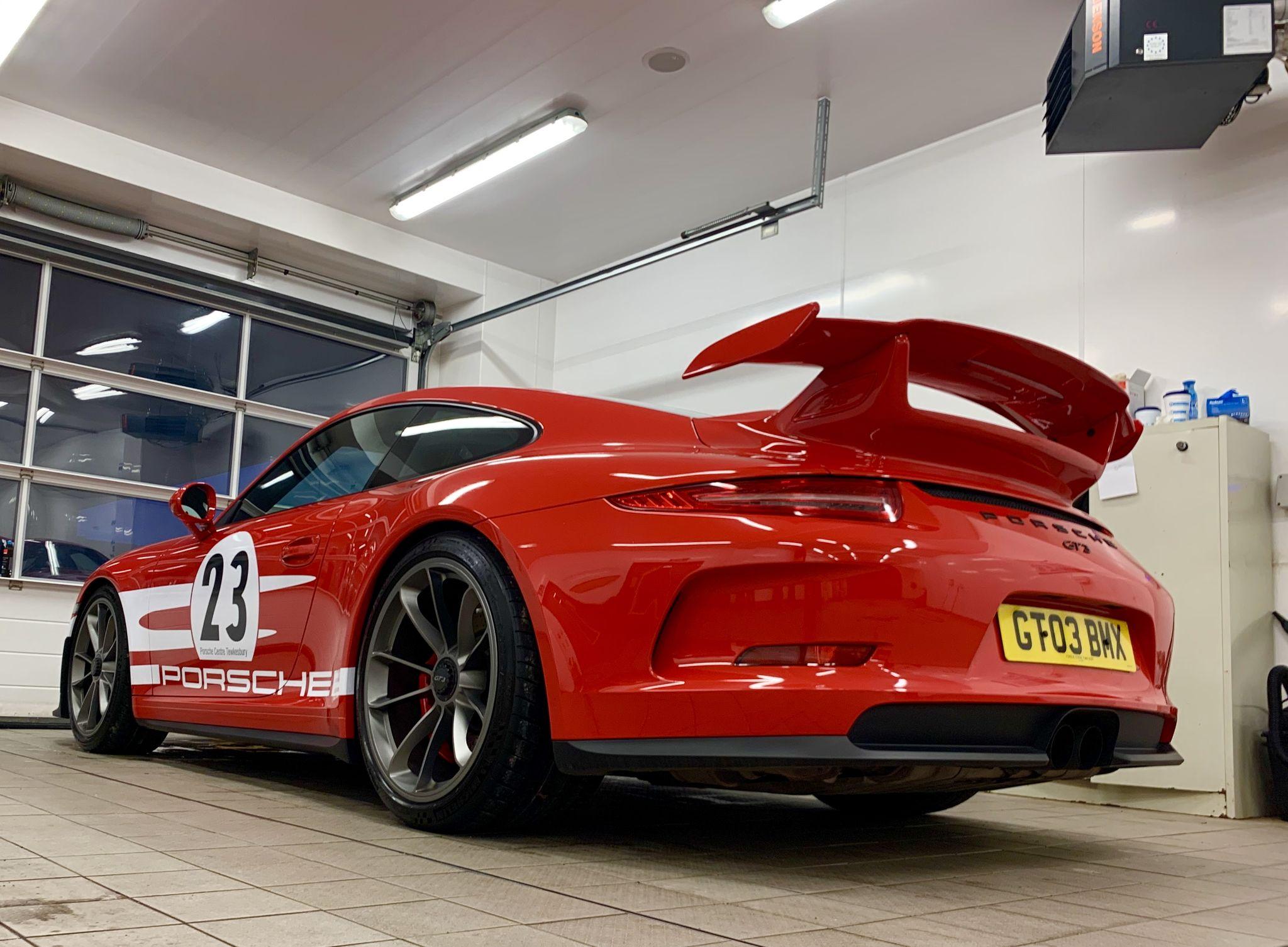 Porsche 911 GT3 Rear - The Perfect Road Trip