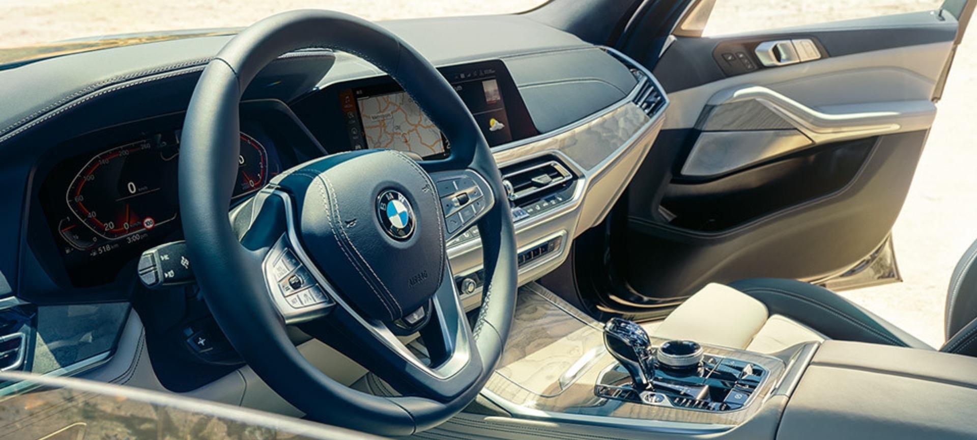 BMW X7 Interior 2