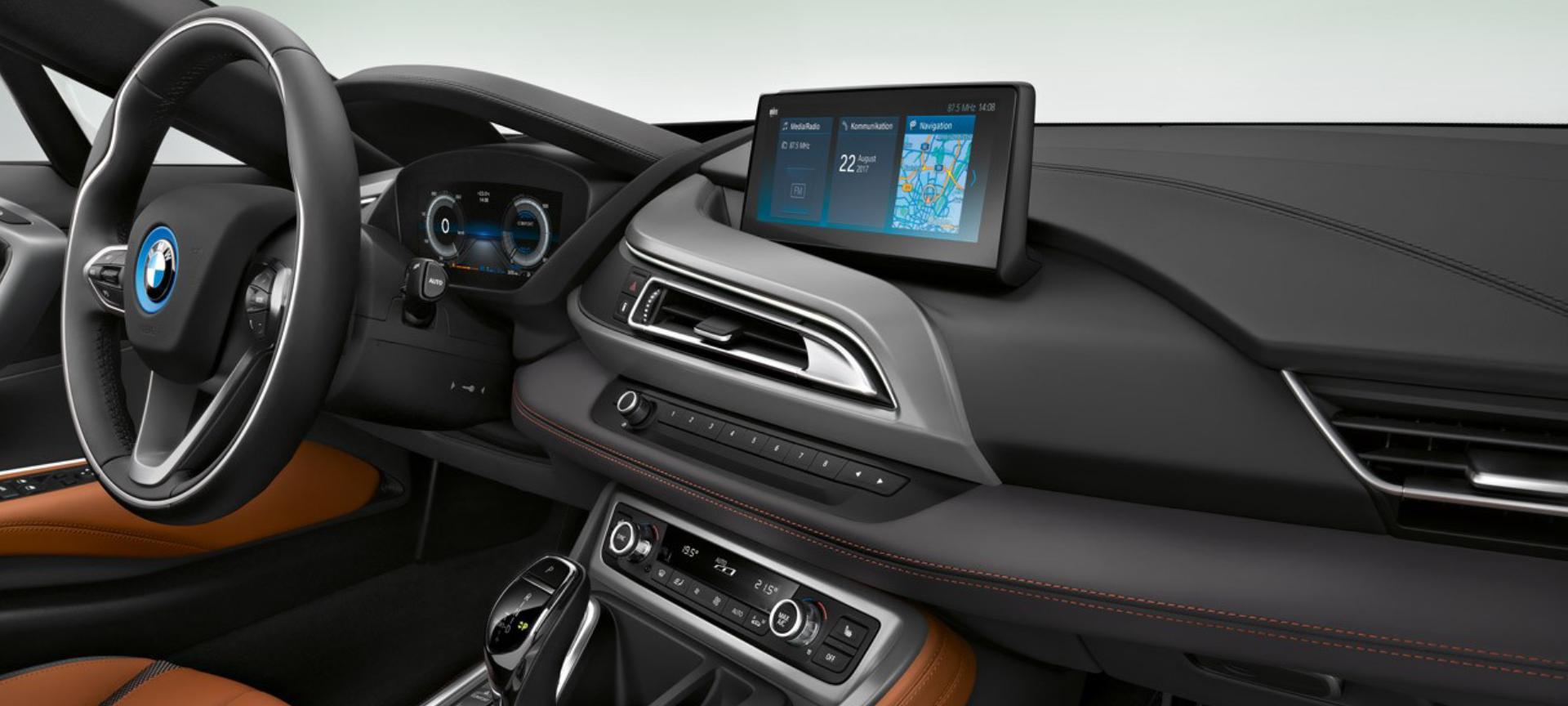 Bmw i8 coupe interior