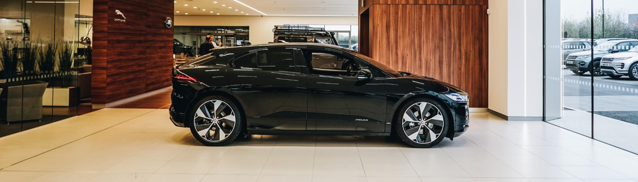 Jaguar I PACE side