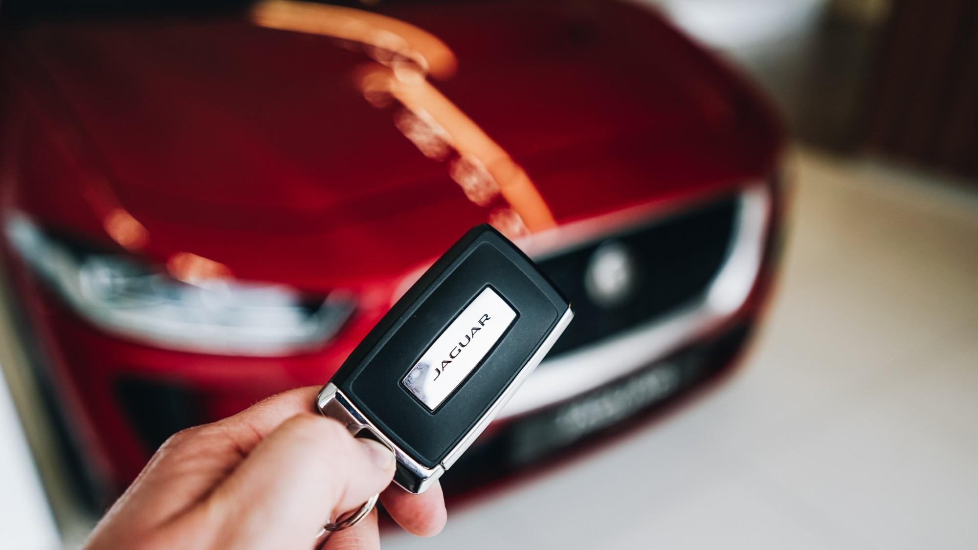 Jaguar I PaCE Key Fob