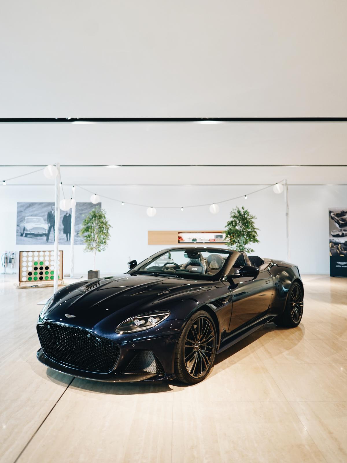 Aston Martin DBS Superleggera Volante Portrait