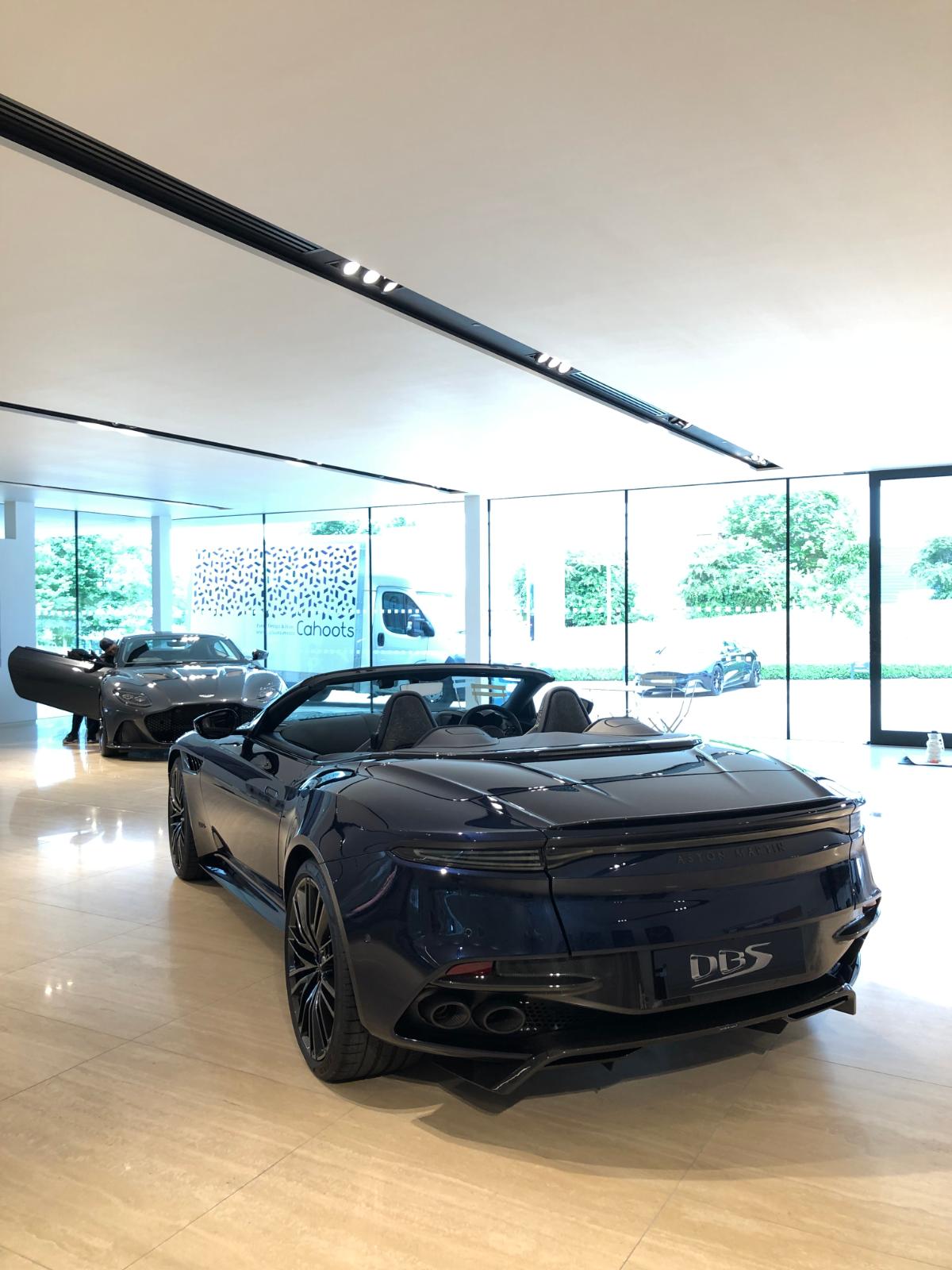 Aston Martin DBS Superleggera Volante Rear