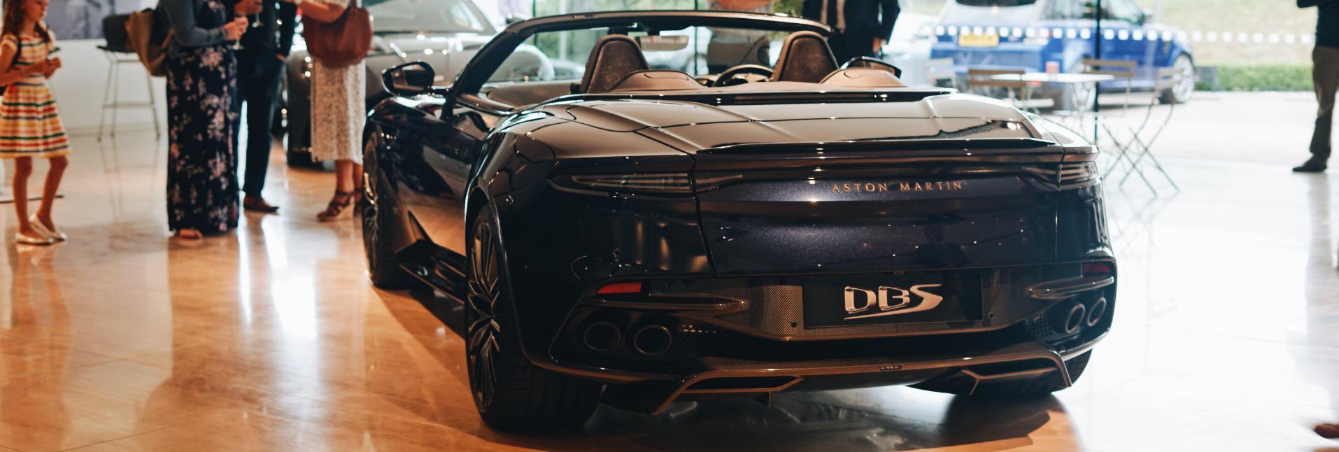 Aston Martin DBS Superleggera Volante Rear2
