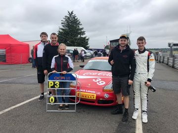 Porsche centre swindon team photo