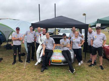 Porsche centre cardiff team photo