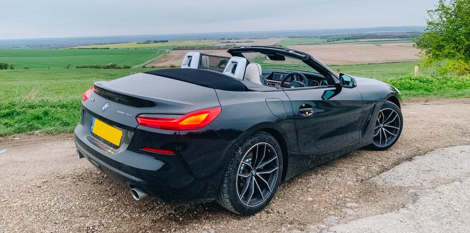 BMW Z4 On Location   Sized