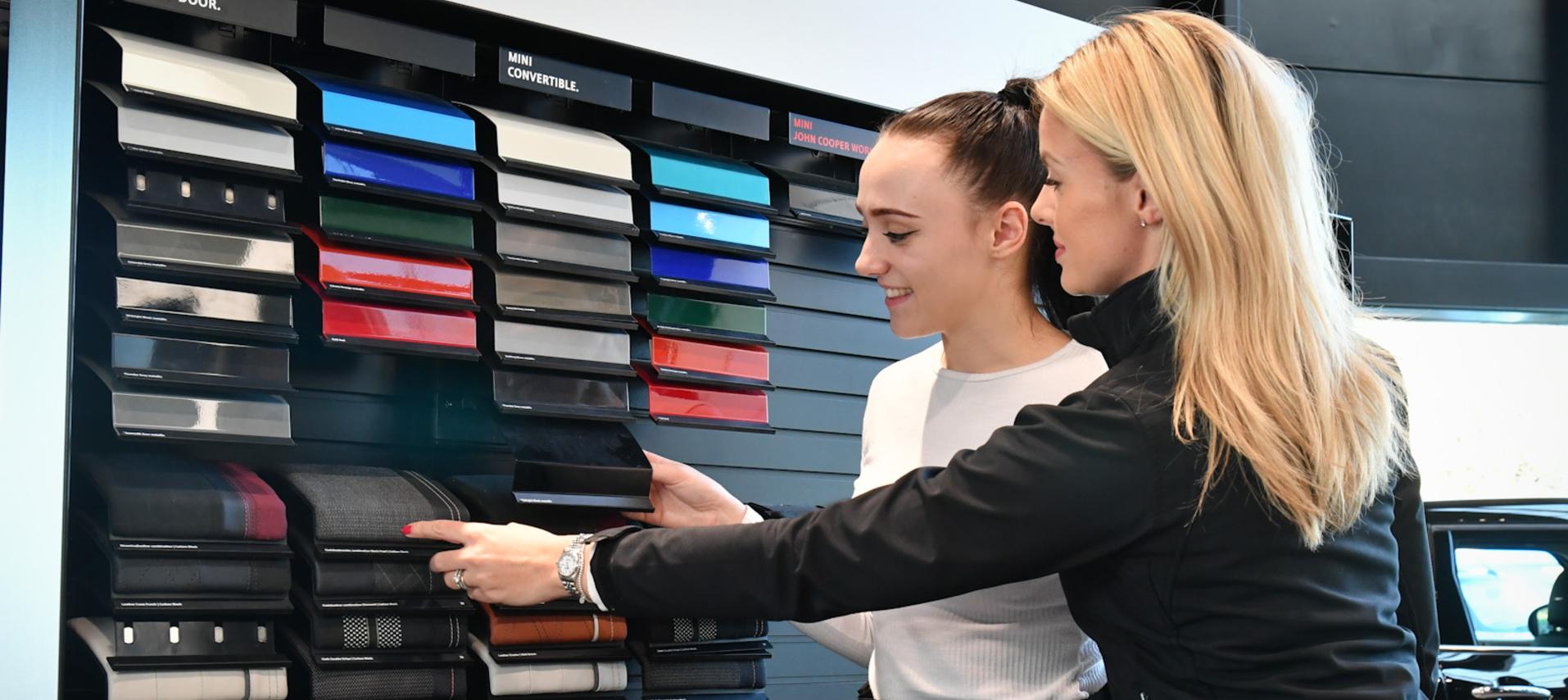 MINI Choosing Colours Business