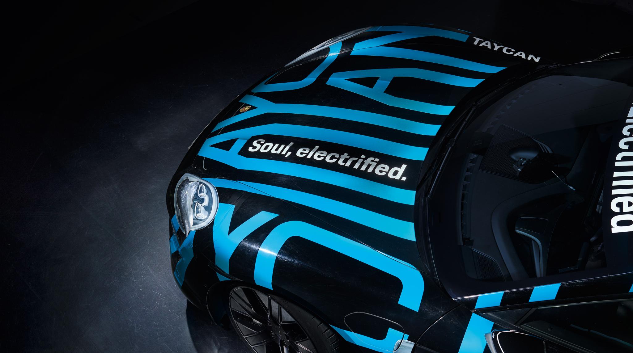 Porsche Taycan   Soul, electrified