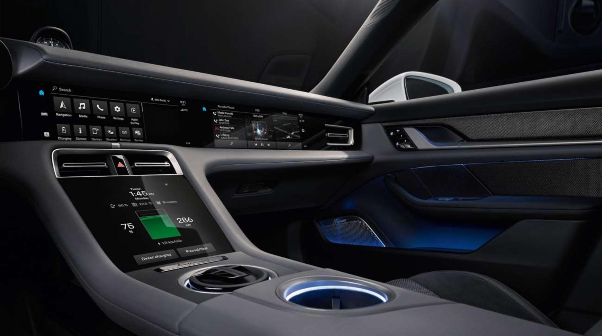 Porsche Interior Centre Console