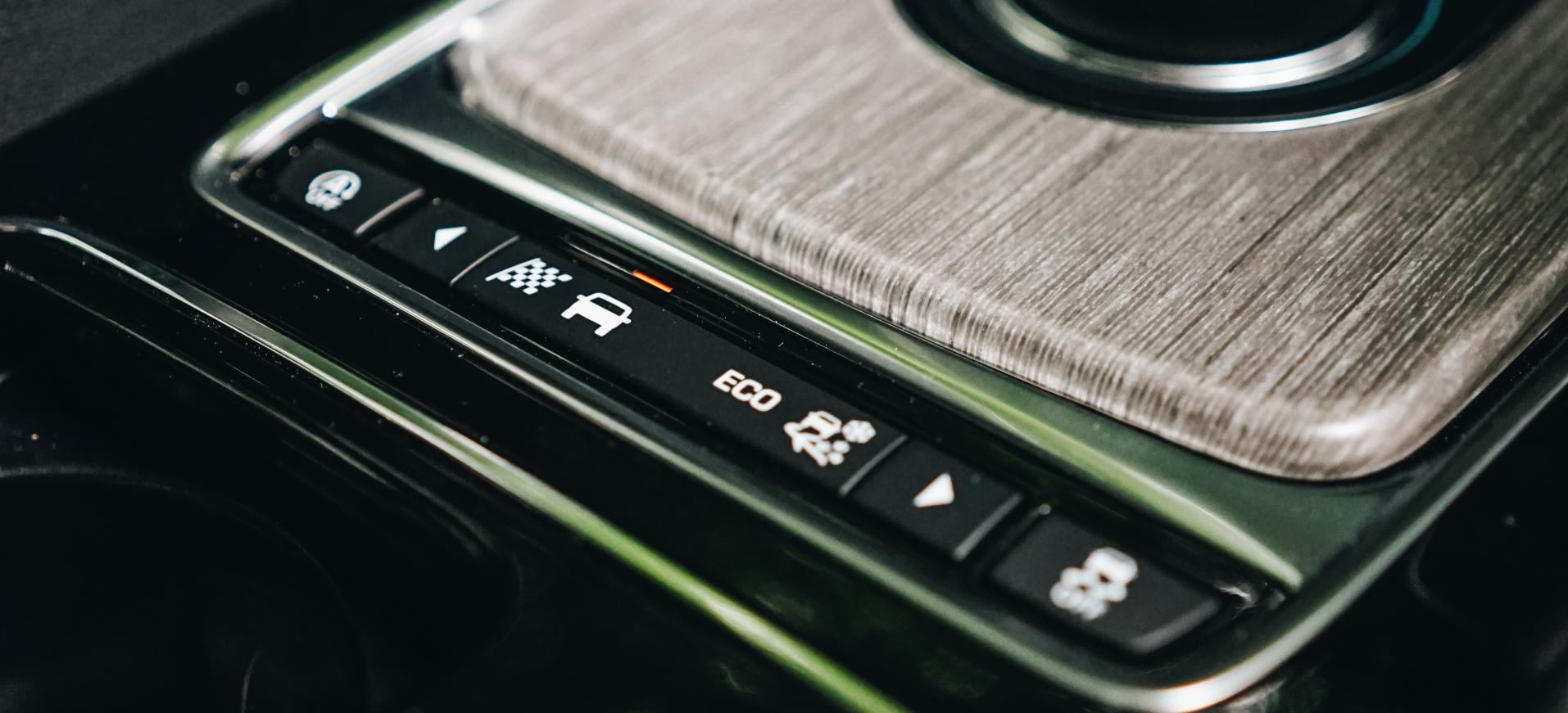 Jaguar F PACE Driving Modes