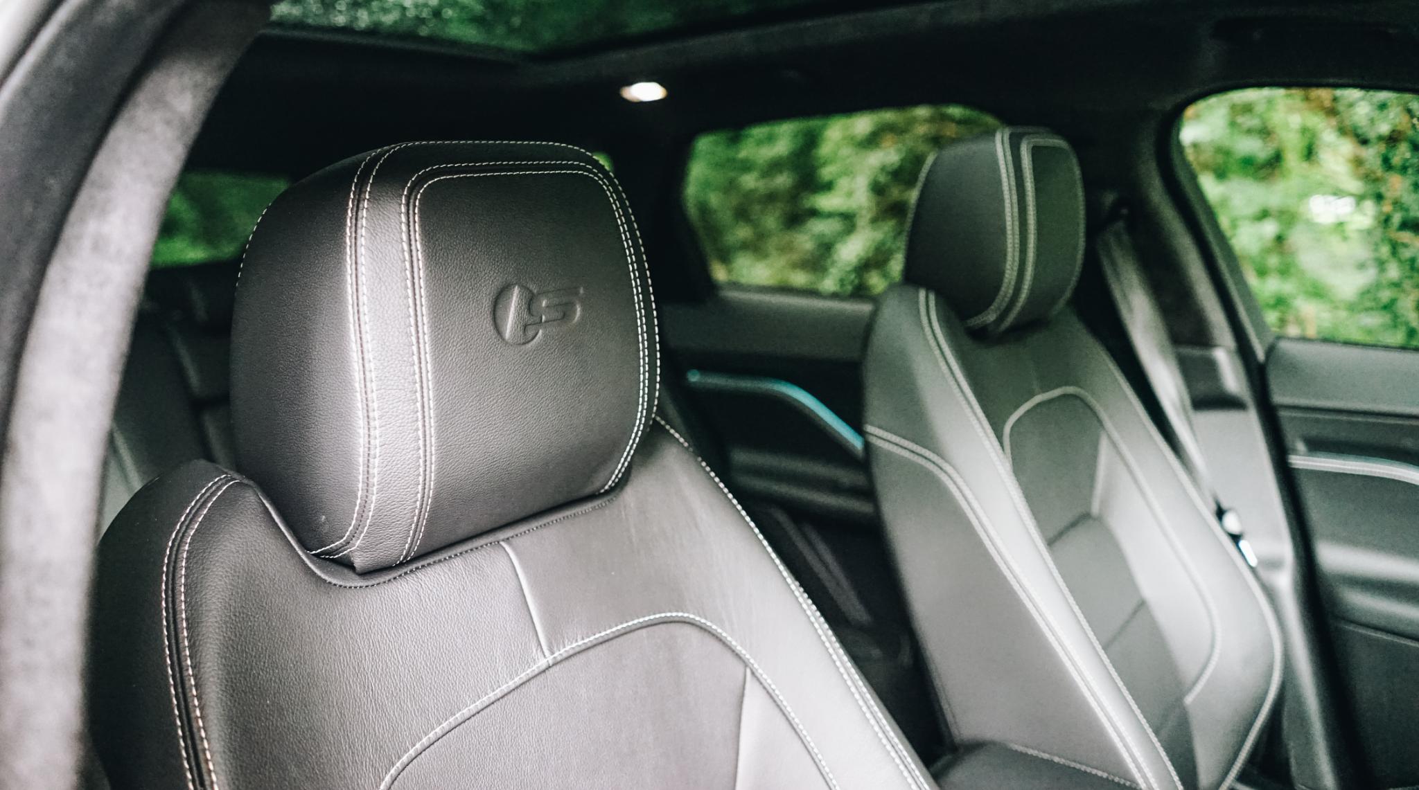 Jaguar F PACE Interior Front Seats Into Rear
