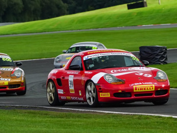 Ollie racing at oulton park
