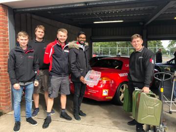 Porsche centre swindon team