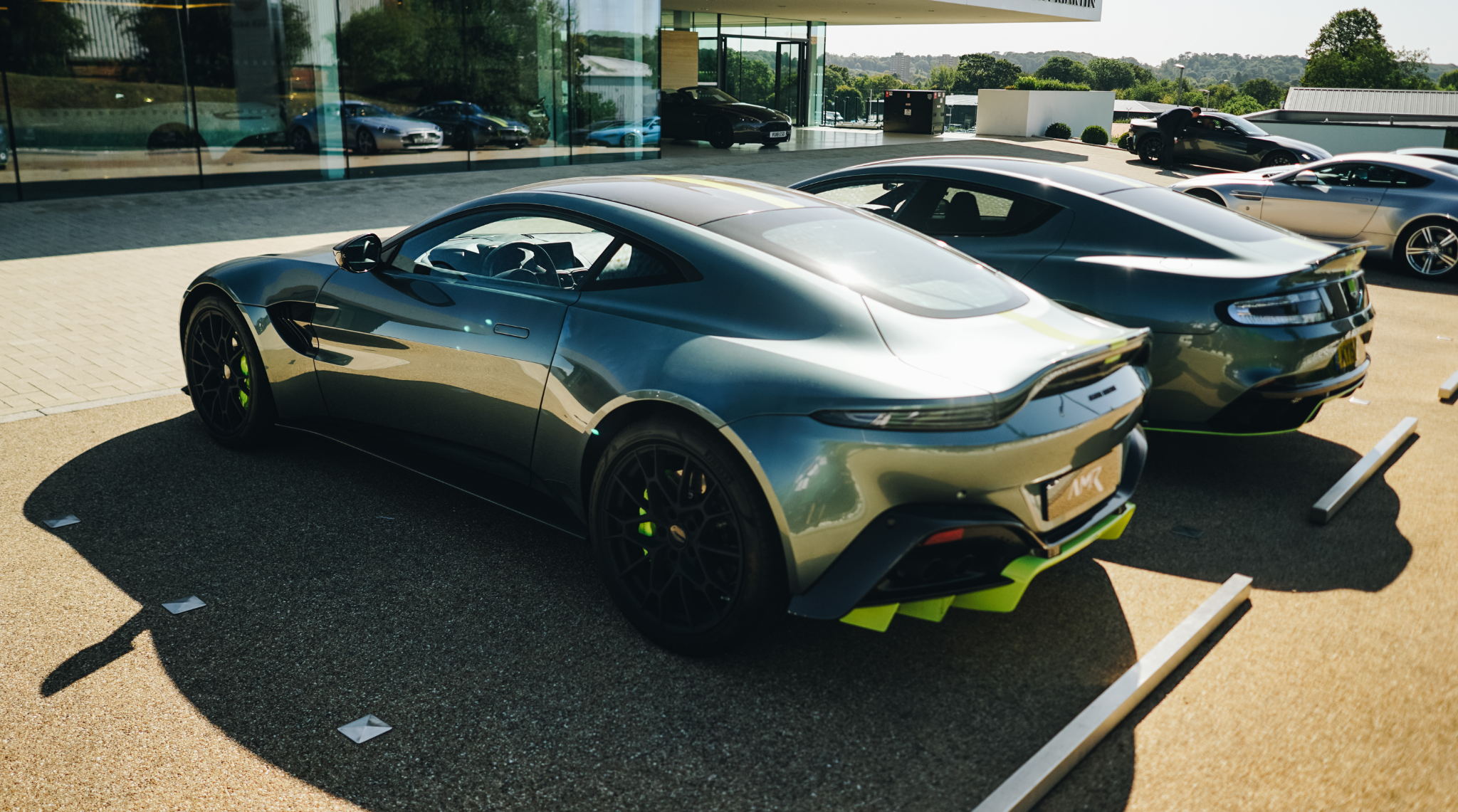 Aston Martin Vantage AMR Rear