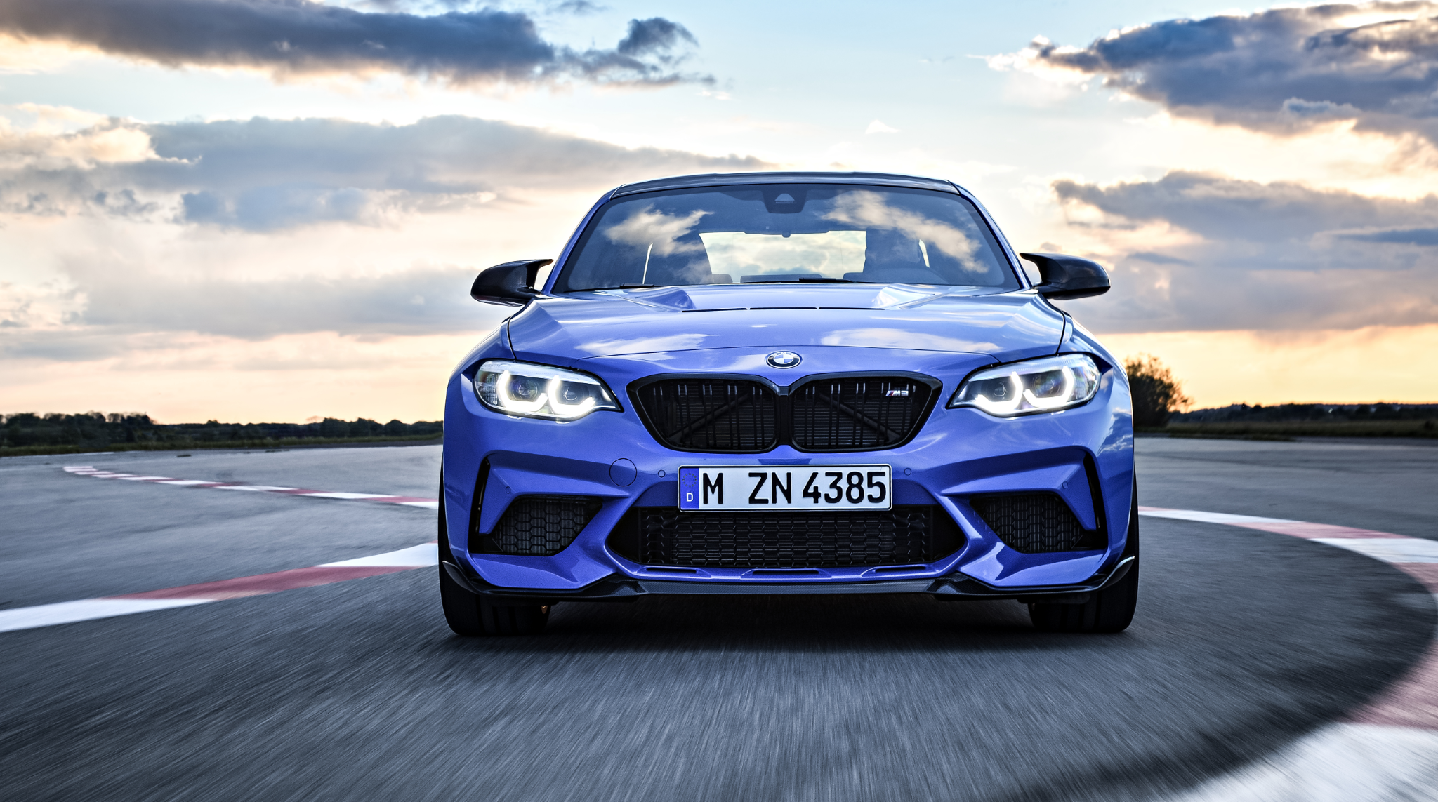 The all new bmw m2 c front