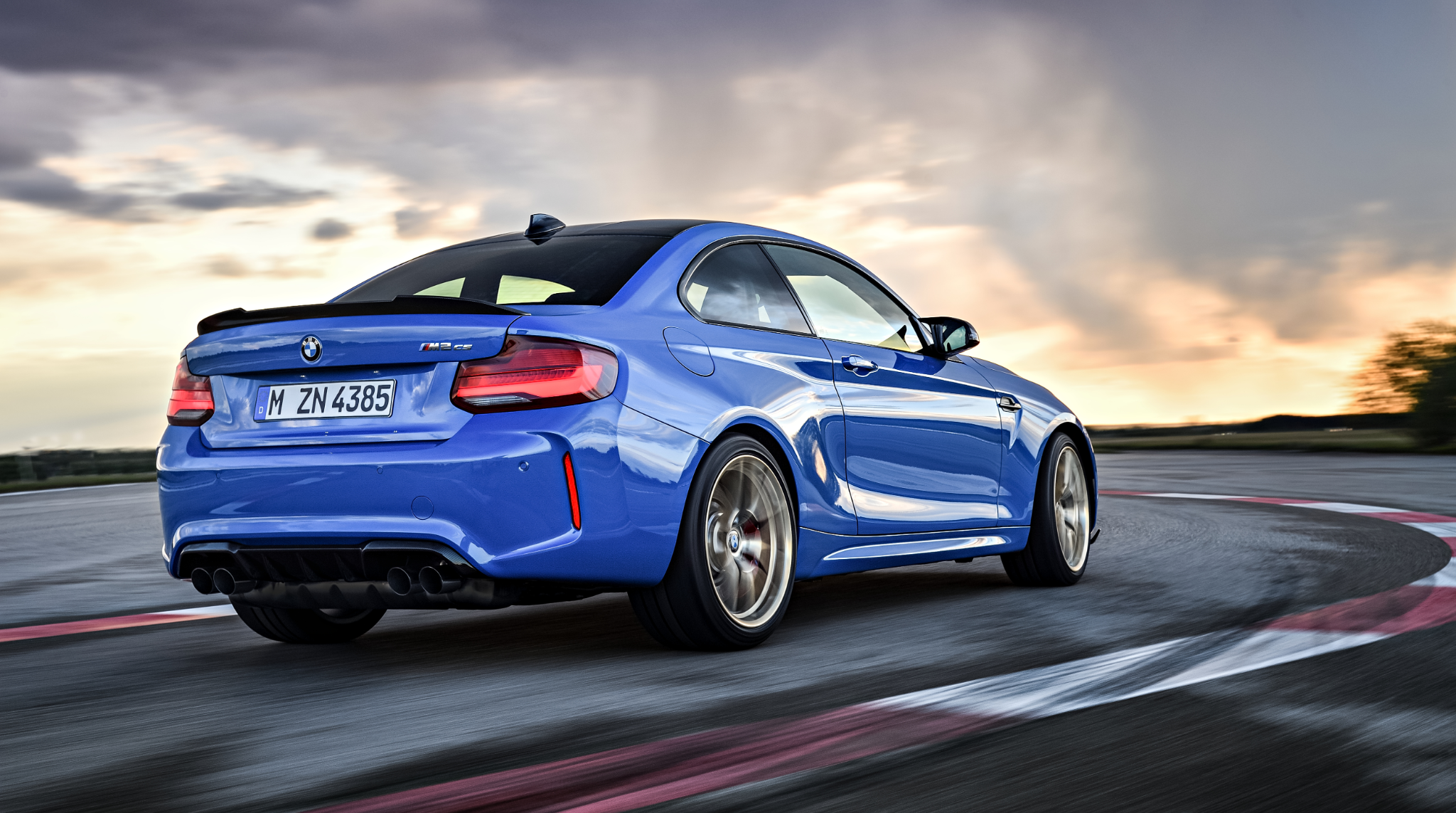 The all new bmw m2 c rear