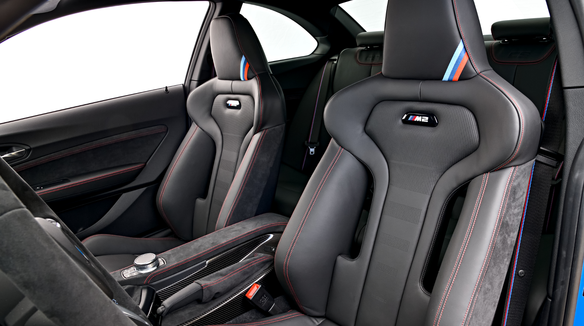 The all new bmw m2 c racing seats