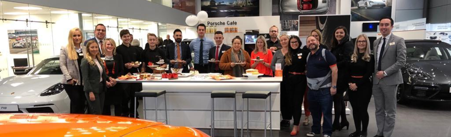 Porsche Swindon Hold Myeloma UK Coffee Morning (1)