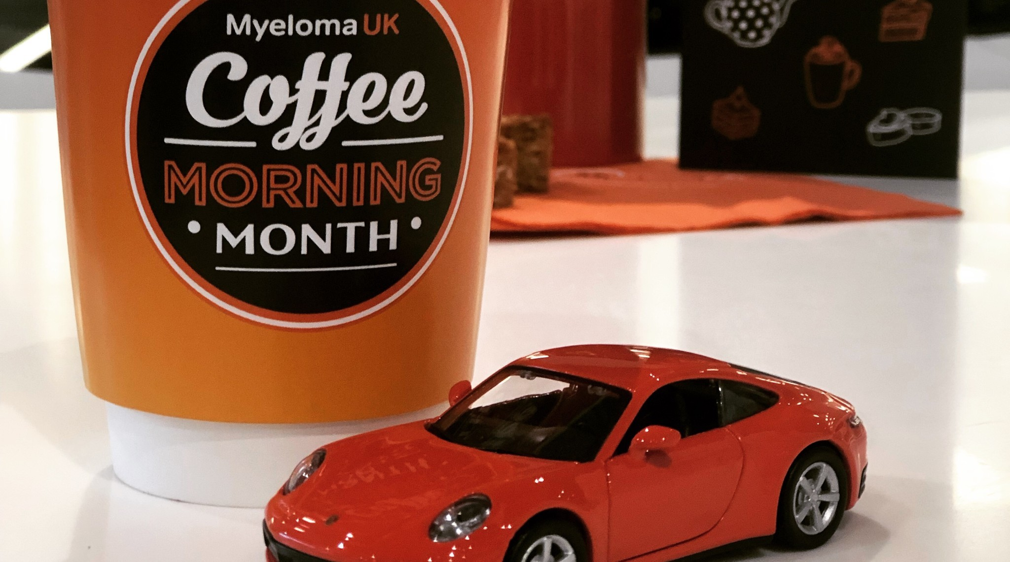Porsche Swindon Hold Myeloma UK Coffee Morning