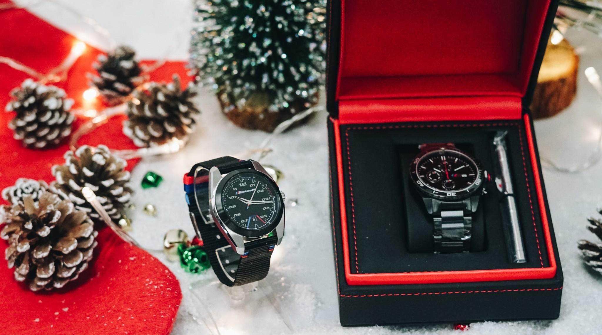 BMW M chronograph watch