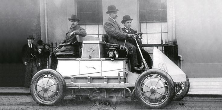 120 years Lohner Porsche