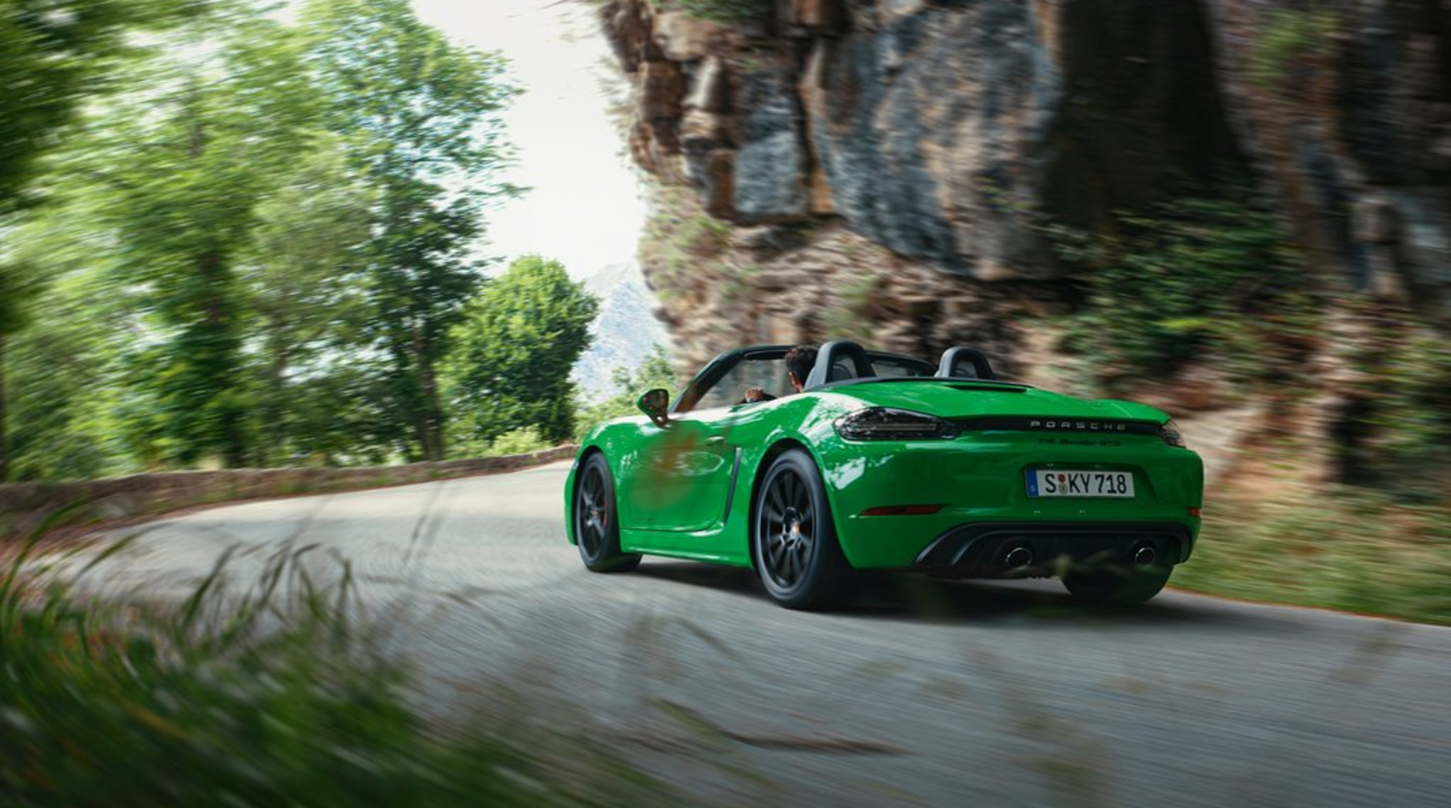 718 Boxster GTS Roads