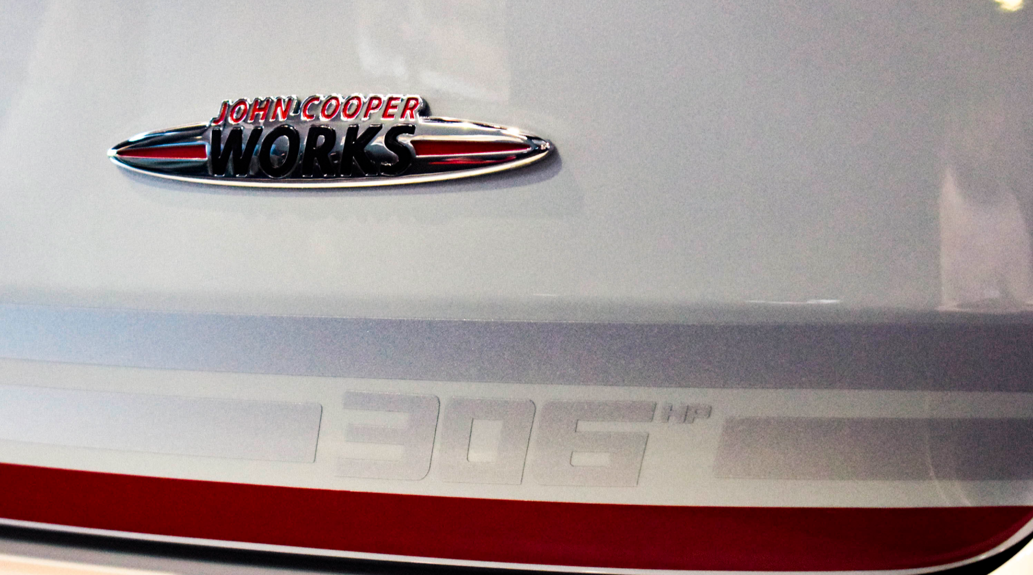 Clubman John Cooper Works Badge 306hp White Silver Edition
