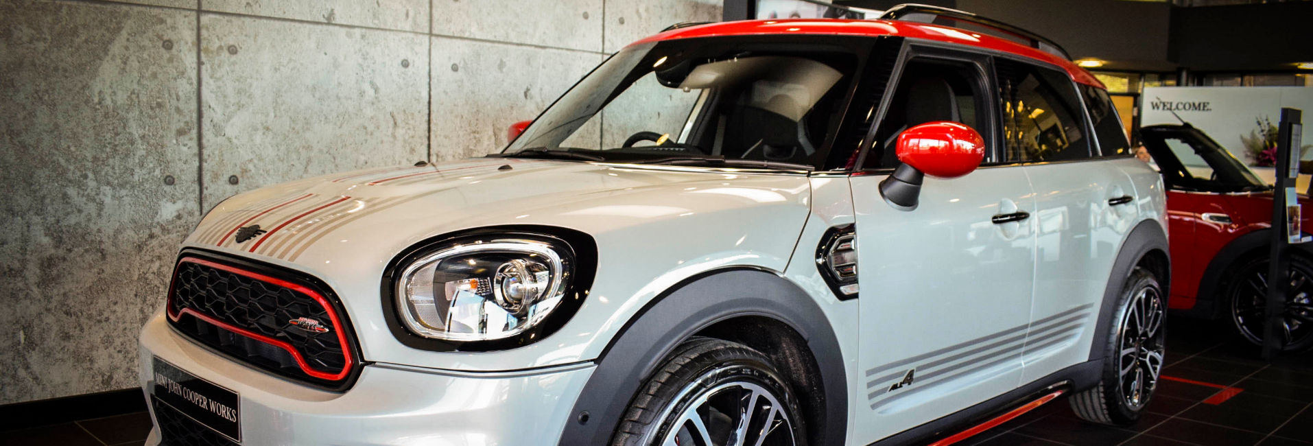 MINI Countryman White Silver Edition