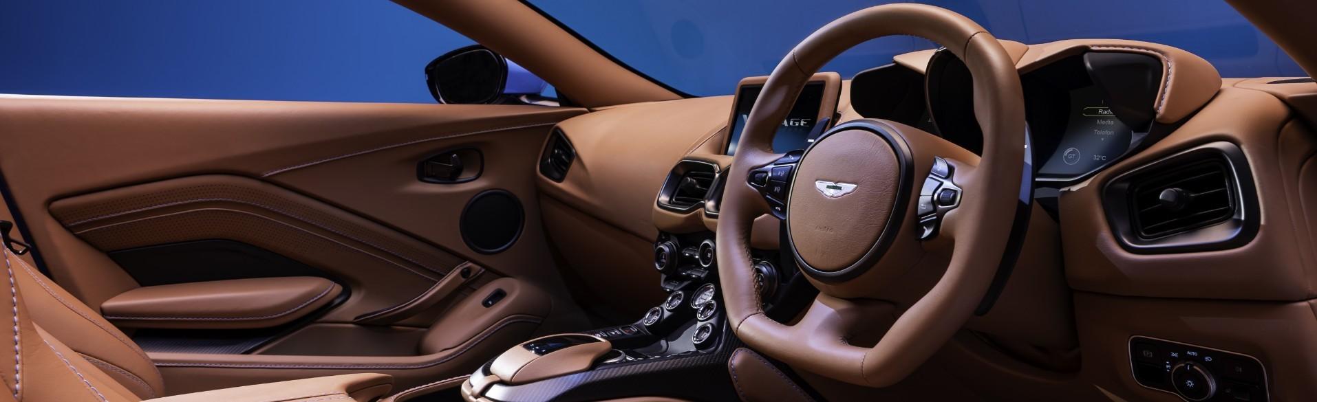 Interior Of The 2021 Aston Martin Vantage Roadster
