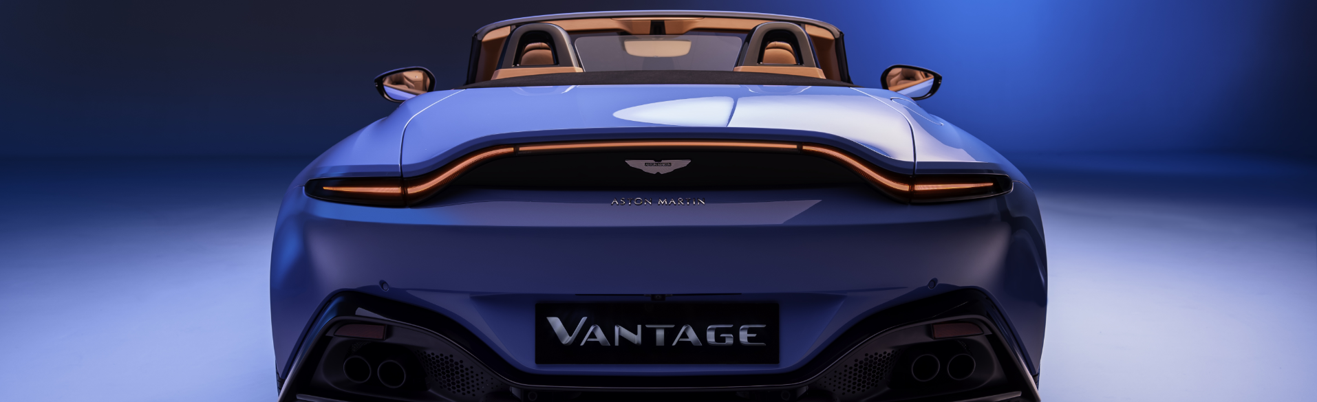 2021 Aston Martin Vantage Roadster Roof Down
