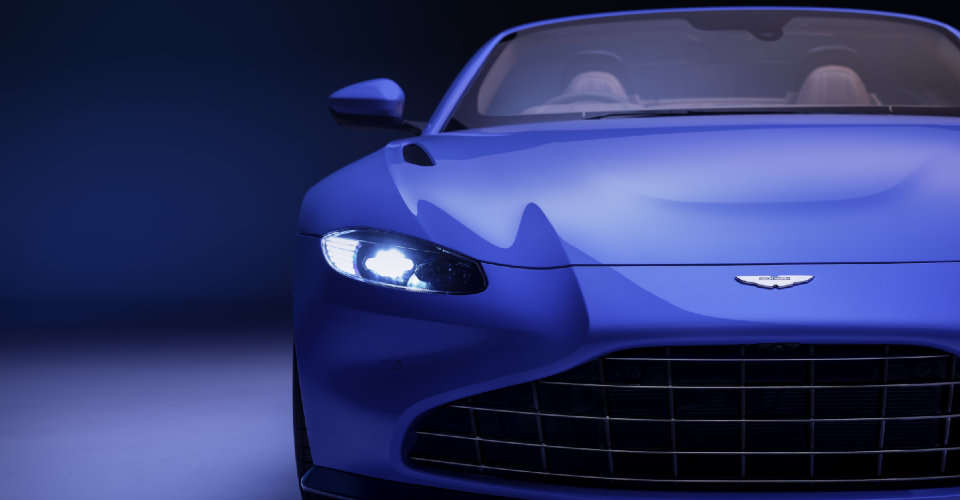 Aston Martin Vantage 2021 Grill