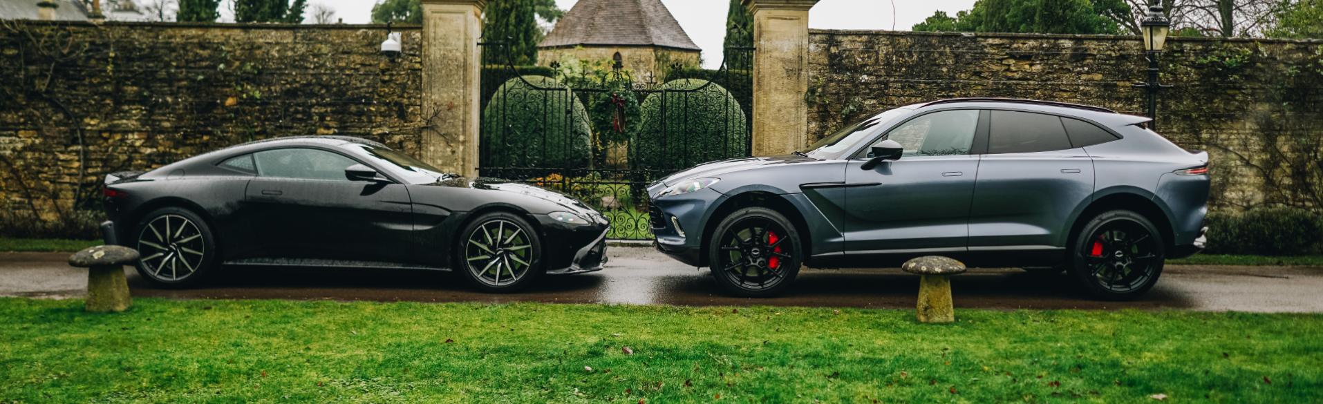 Aston Martin Vantage And DBX