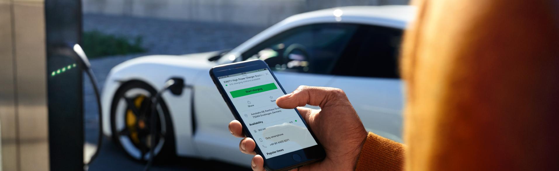 Porsche Taycan Mobile App