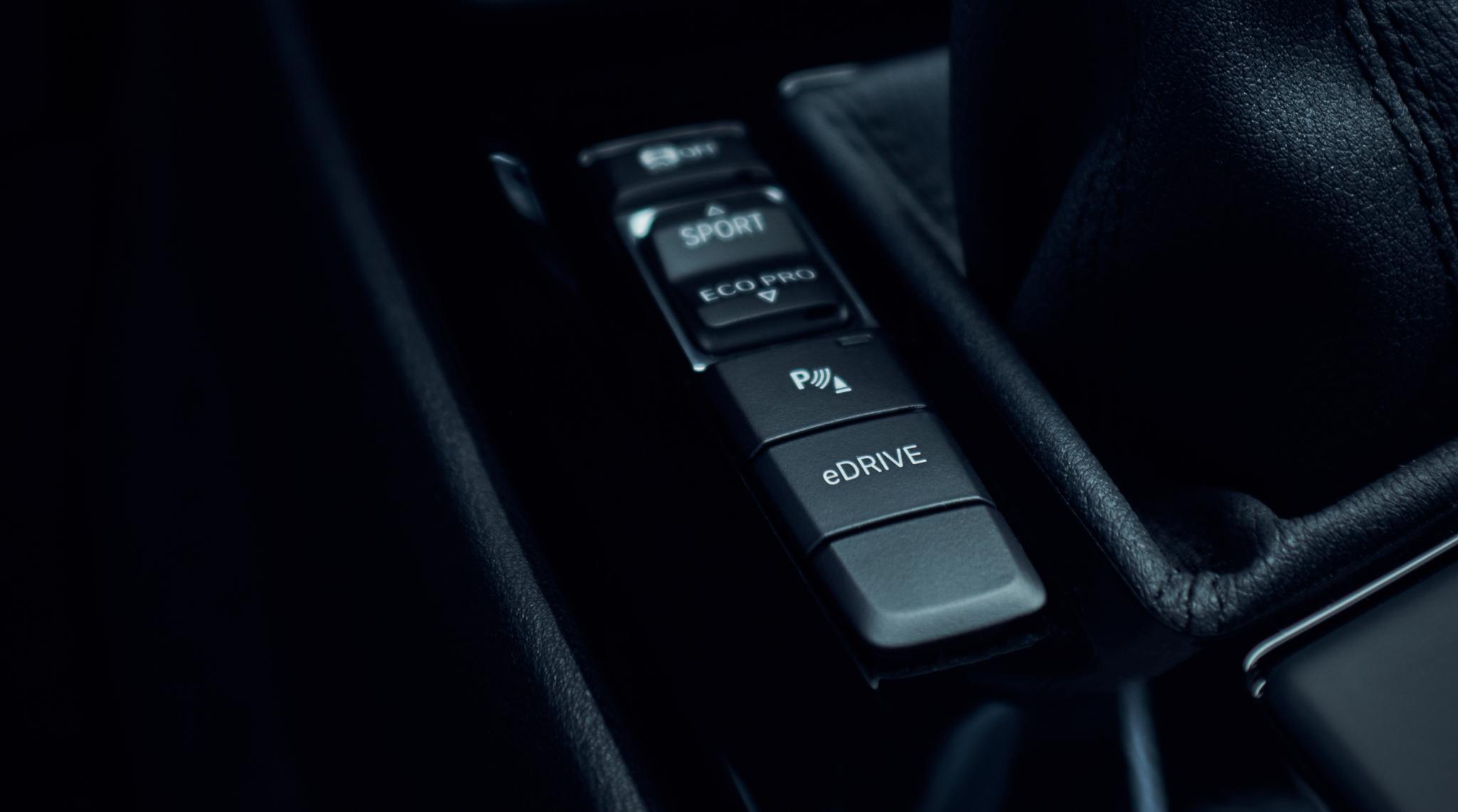 X1 xDrive25e Driving Modes