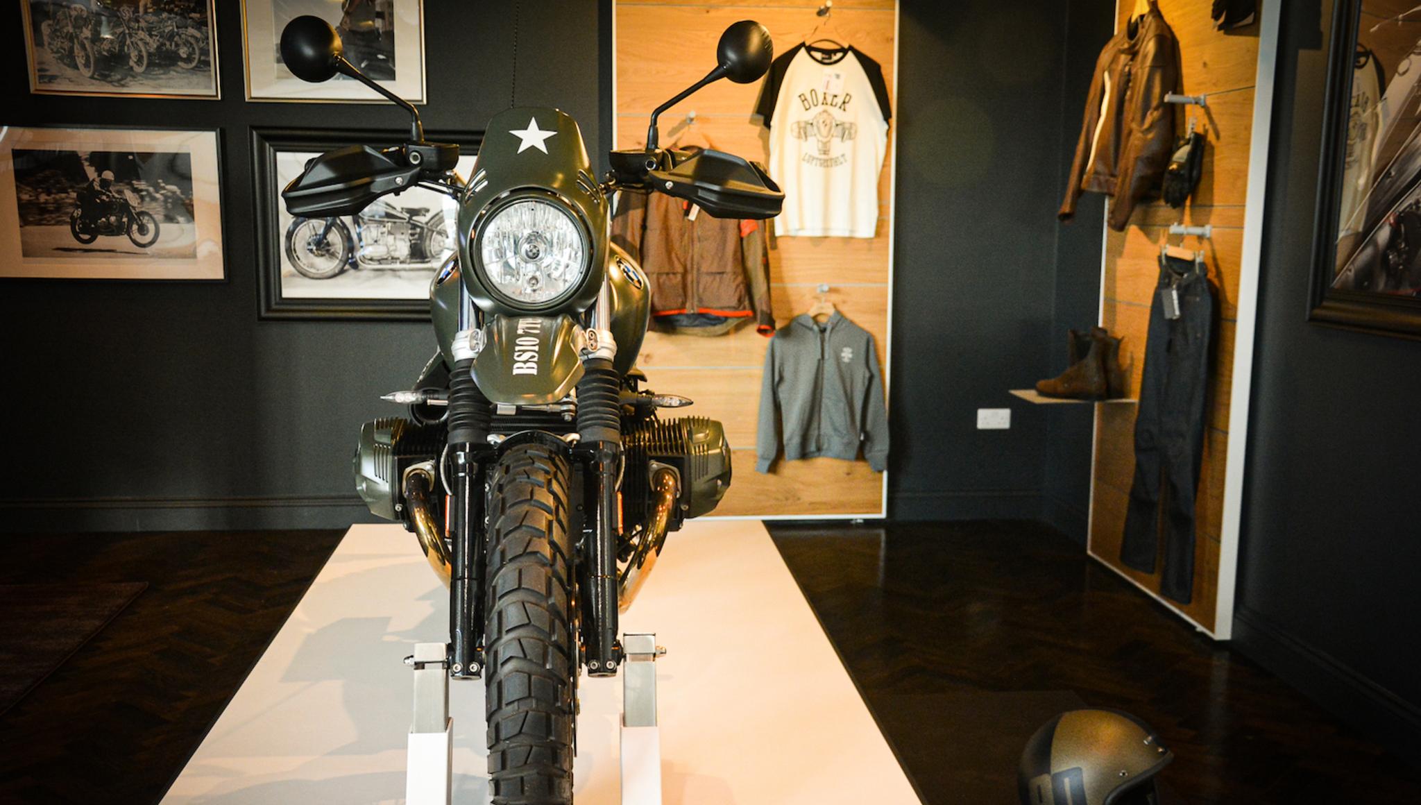 Motorrad New Showroom