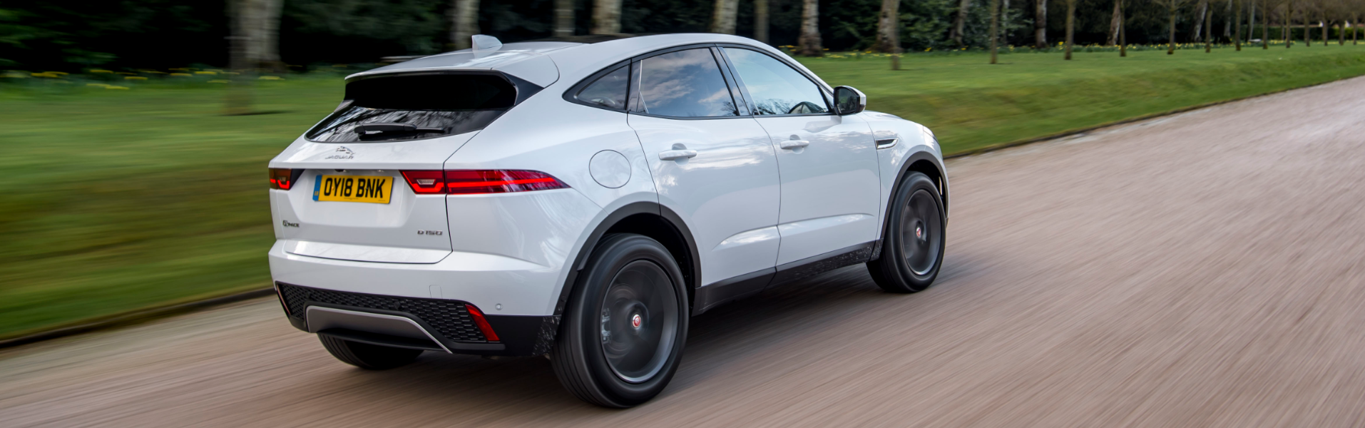 Jaguar E-PACE Handling