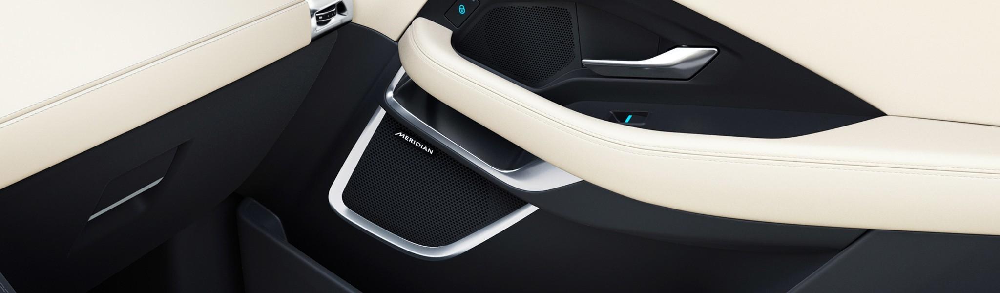 Meridian Sound System Jaguar E PACE