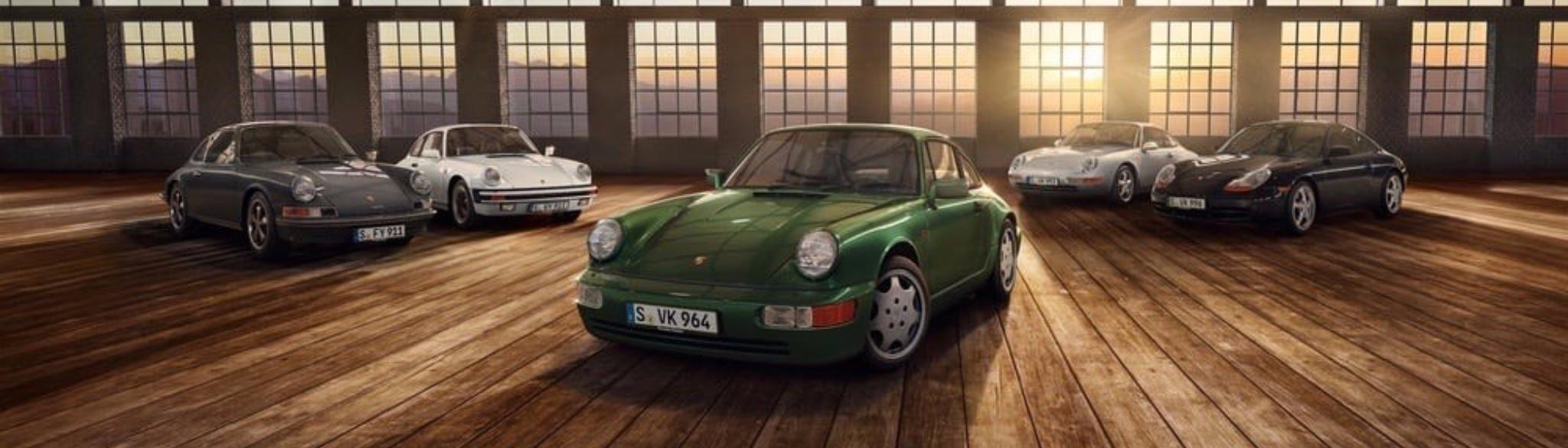 Origins Of The Air Cooled Porsche Engine