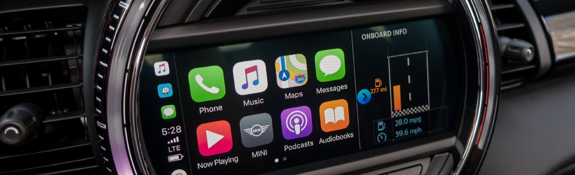 MINI Countryman Apple CarPlay