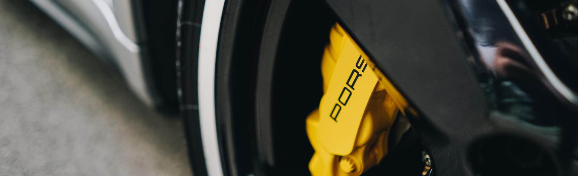 Porsche Wheel Clean