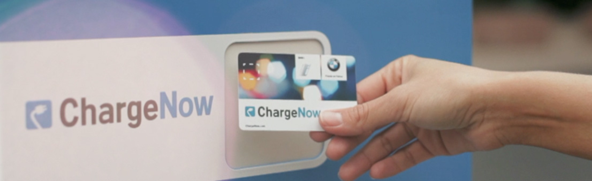 Charge Now card
